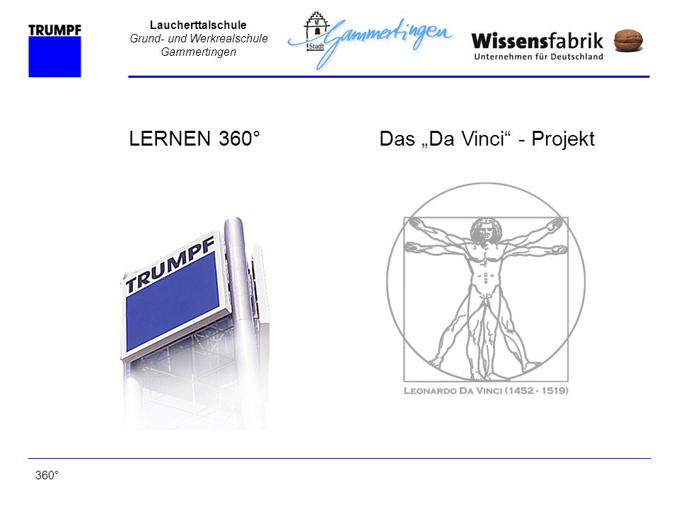 "Das ""Da Vinci - Projekt"