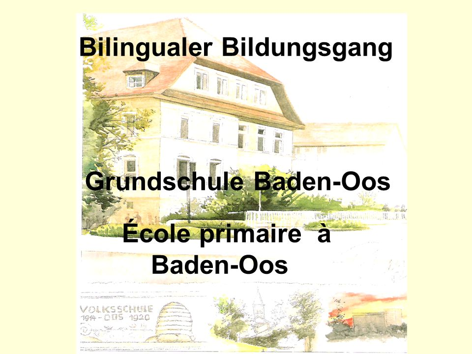 Bilingualer Bildungsgang