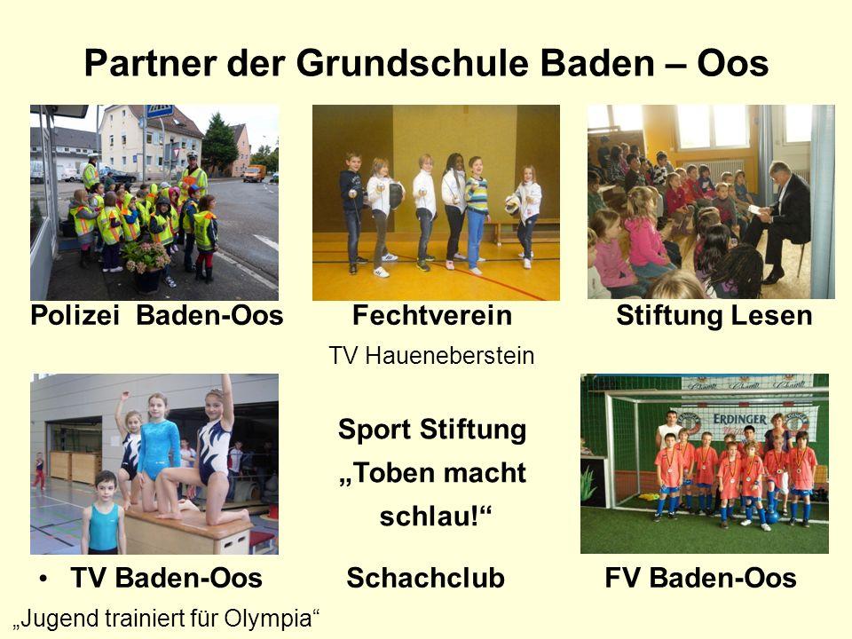 Partner der Grundschule Baden – Oos