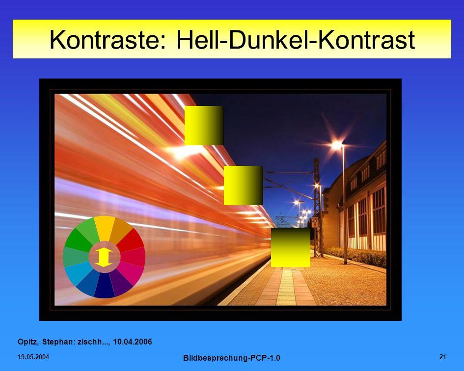 Kontraste: Hell-Dunkel-Kontrast