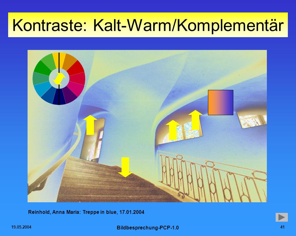 Kontraste: Kalt-Warm/Komplementär