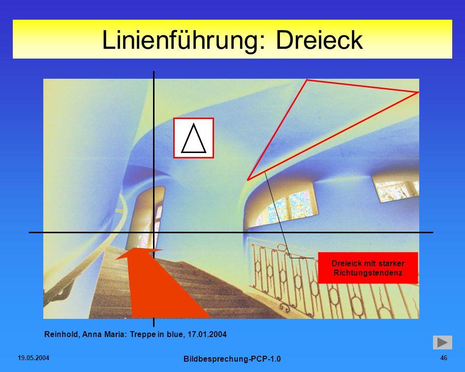 Linienführung: Dreieck
