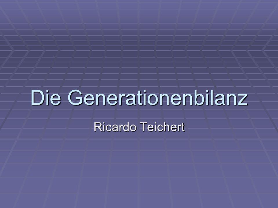 Die Generationenbilanz