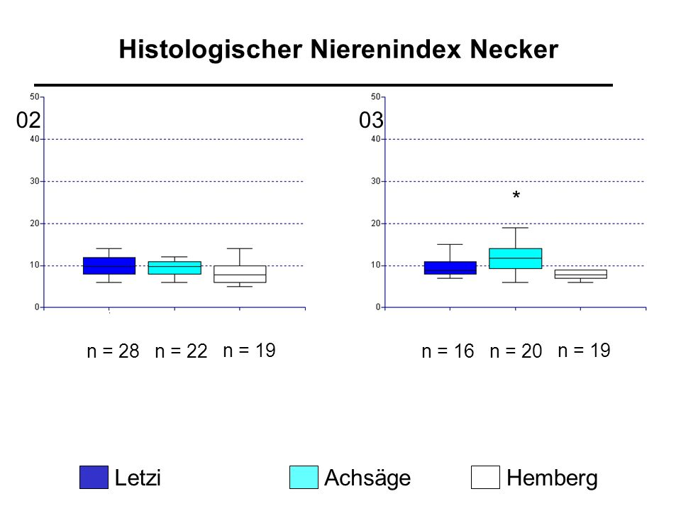 Histologischer Nierenindex Necker