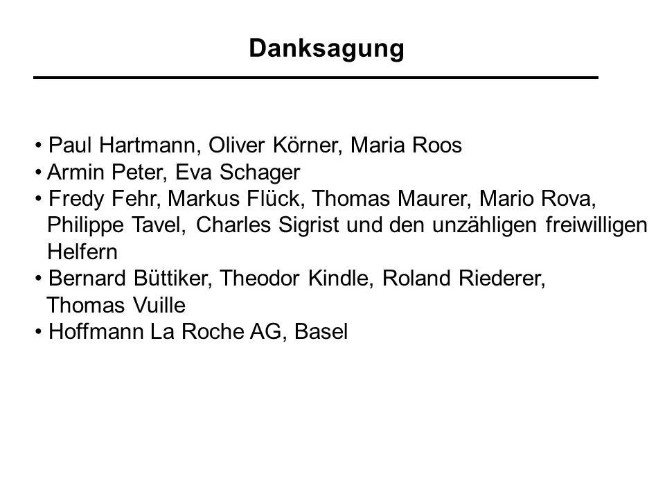 Danksagung • Paul Hartmann, Oliver Körner, Maria Roos