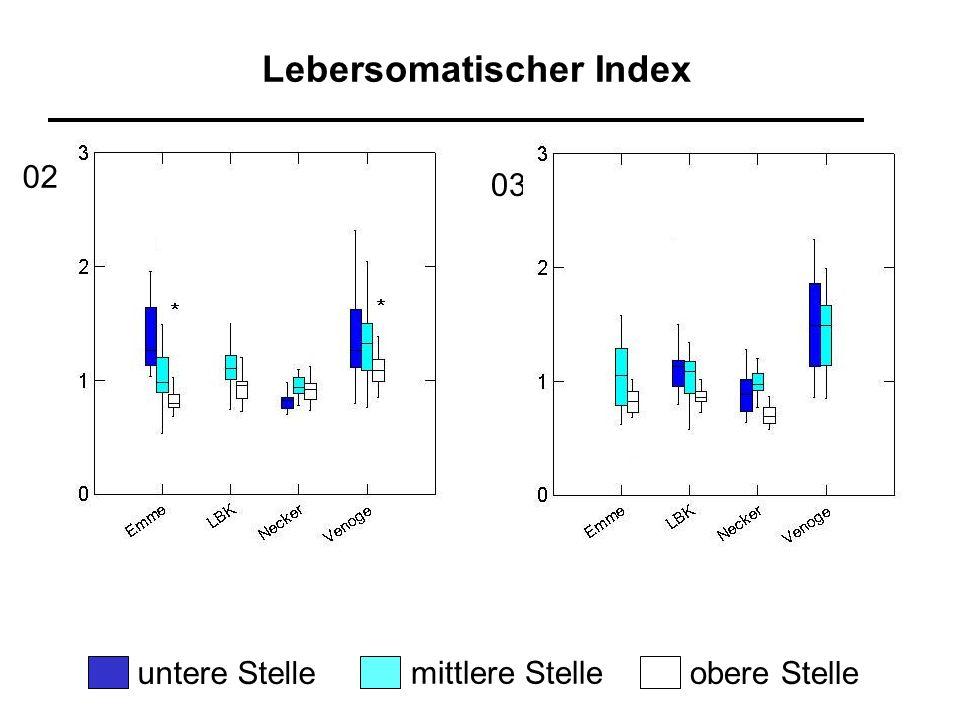Lebersomatischer Index