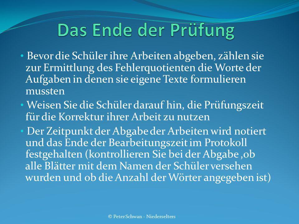 © Peter Schwan - Niederselters