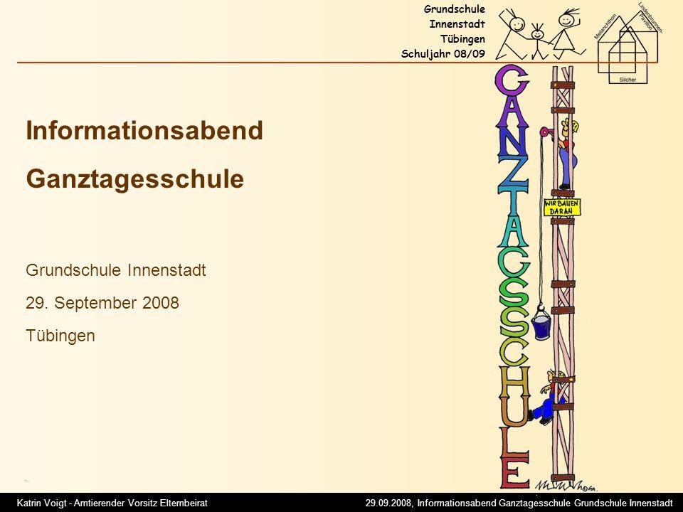 Informationsabend Ganztagesschule Grundschule Innenstadt