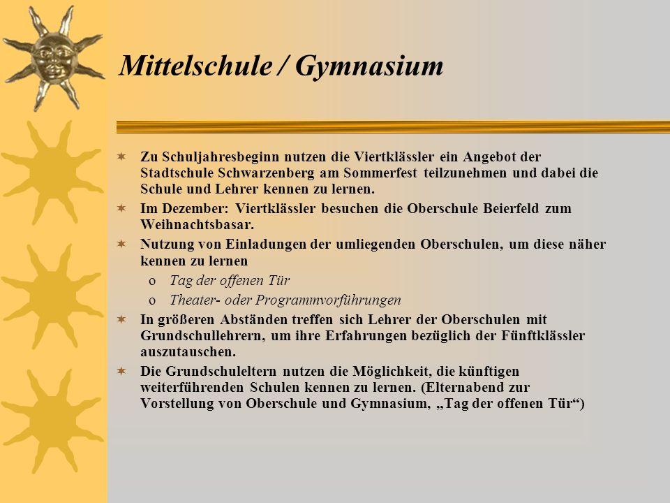 Mittelschule / Gymnasium