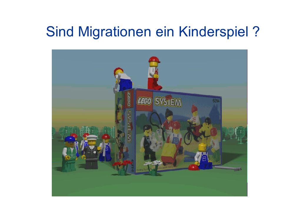 Sind Migrationen ein Kinderspiel