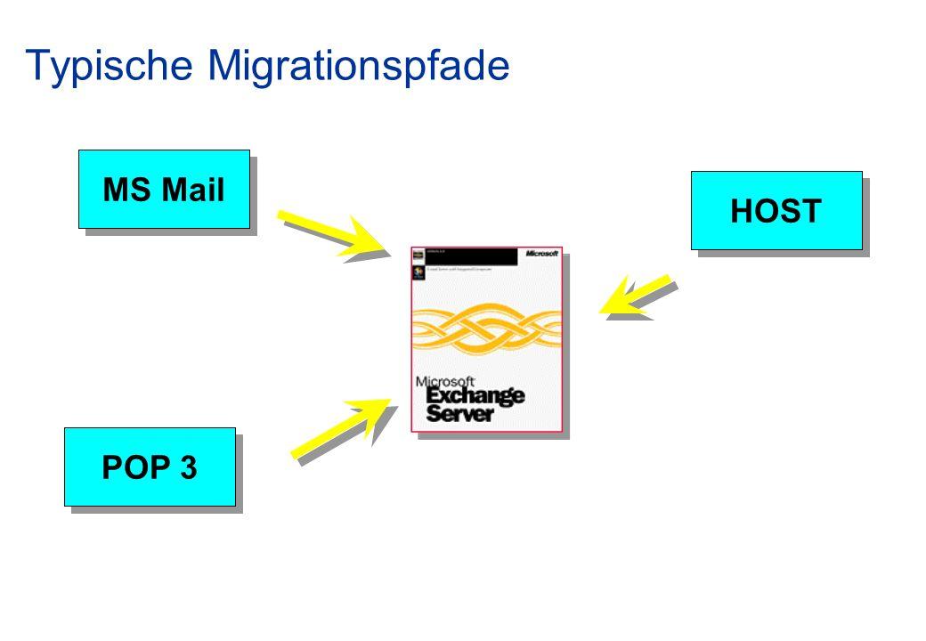 Typische Migrationspfade