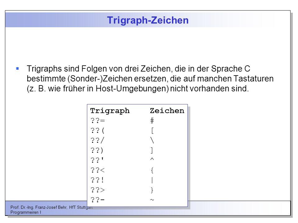 Trigraph-Zeichen