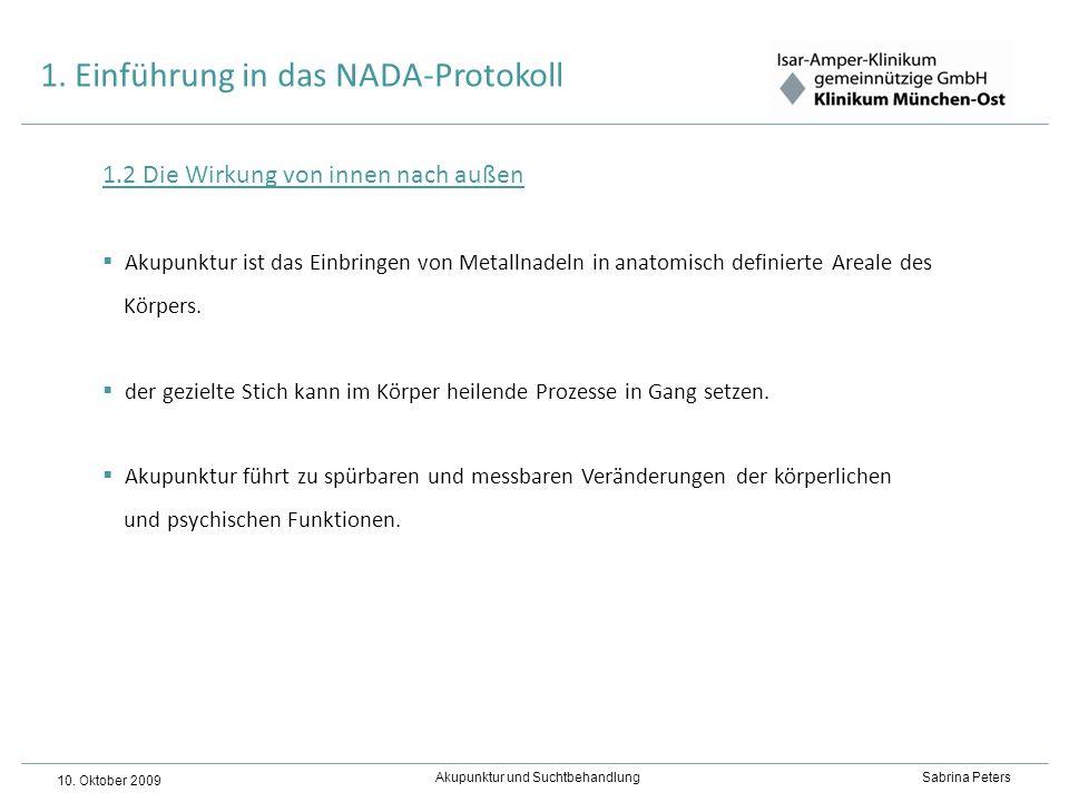 1. Einführung in das NADA-Protokoll