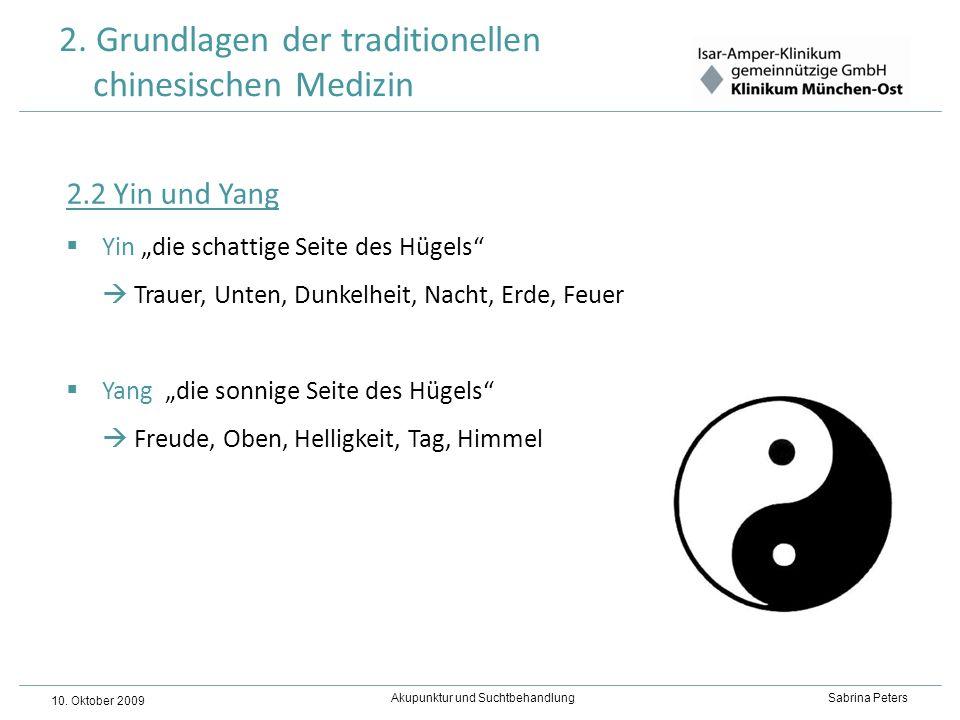 2. Grundlagen der traditionellen chinesischen Medizin