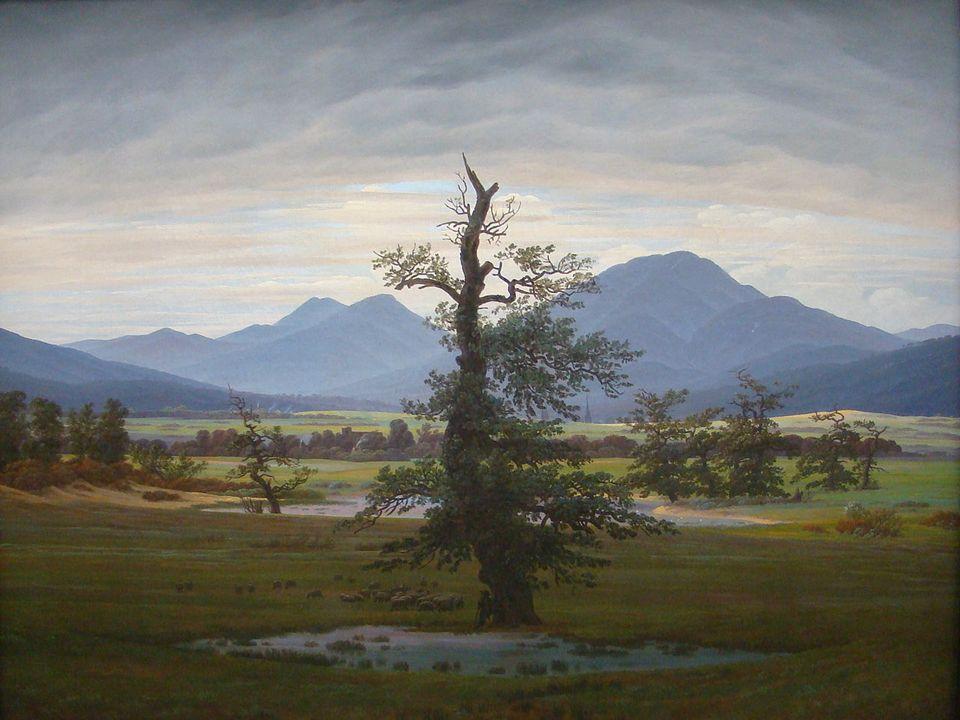 Der einsame Baum ist der Titel eines Gemäldes von Caspar David Friedrich aus dem Jahr 1822, der Zeit der Romantik.