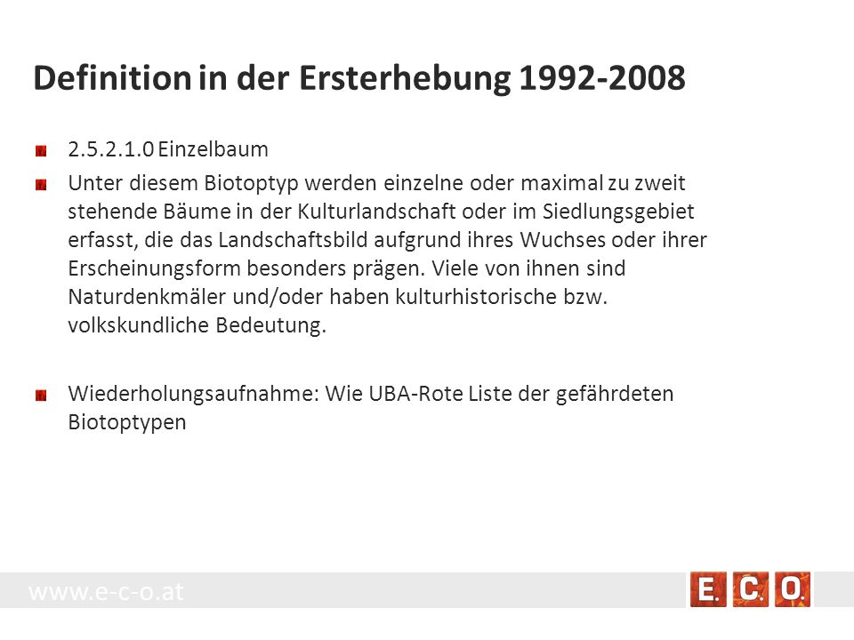 Definition in der Ersterhebung 1992-2008