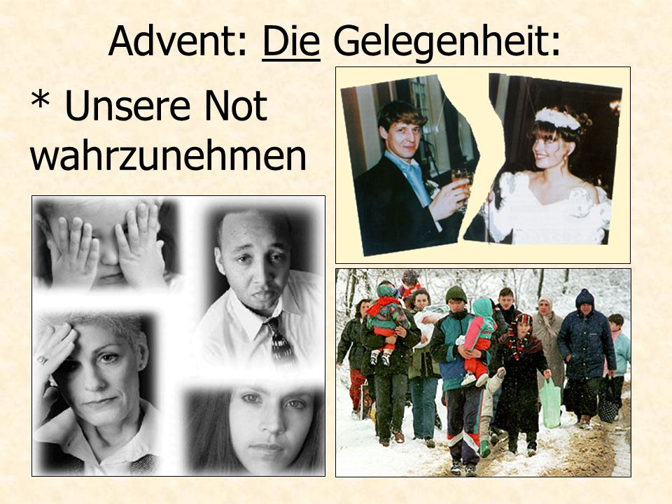 Advent: Die Gelegenheit: