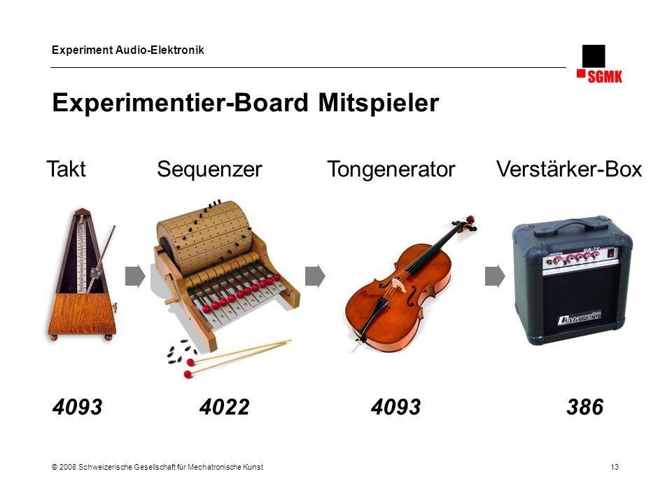 Experimentier-Board Mitspieler