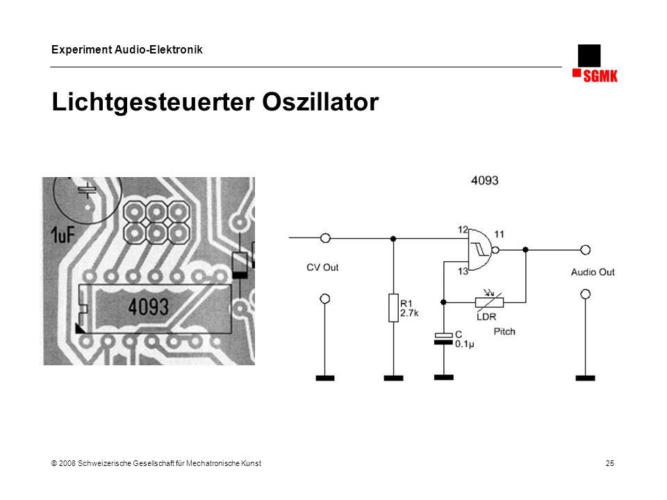 Lichtgesteuerter Oszillator