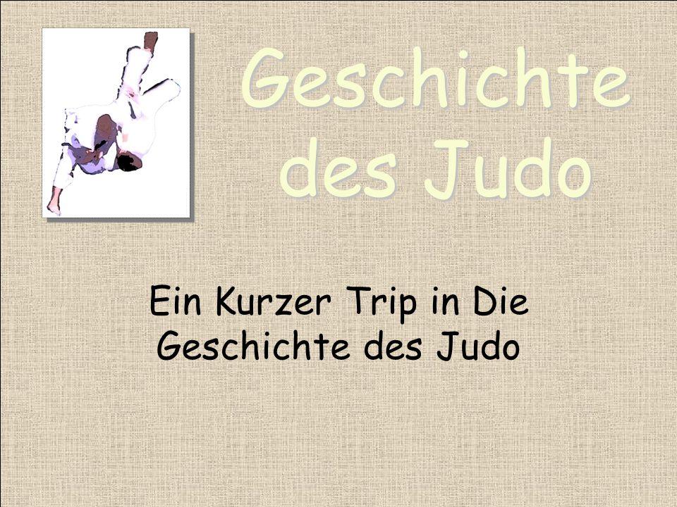 Ein Kurzer Trip in Die Geschichte des Judo