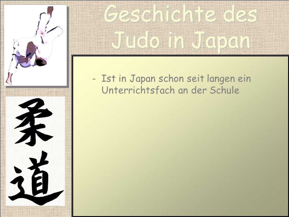Geschichte des Judo in Japan