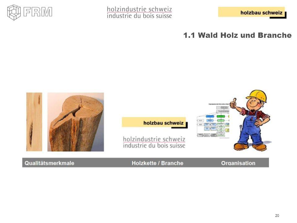 1.1 Wald Holz und Branche RB