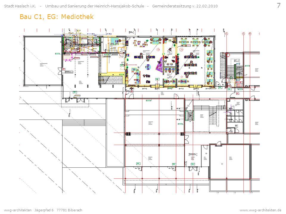 7 Stadt Haslach i.K. - Umbau und Sanierung der Heinrich-Hansjakob-Schule - Gemeinderatssitzung v. 22.02.2010.