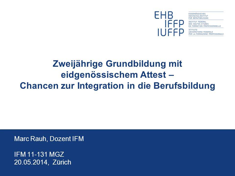 Marc Rauh, Dozent IFM IFM 11-131 MGZ 31.03.2017, Zürich