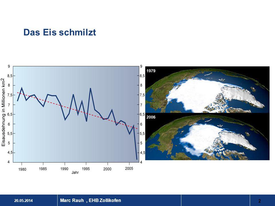 Das Eis schmilzt Marc Rauh , EHB Zollikofen