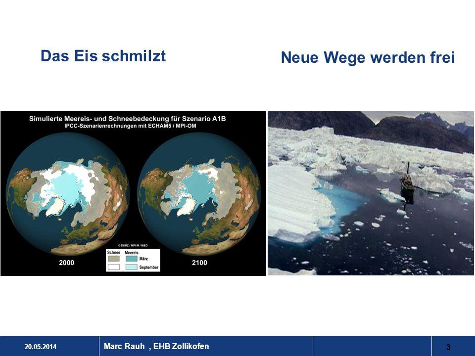 Das Eis schmilzt Neue Wege werden frei Marc Rauh , EHB Zollikofen