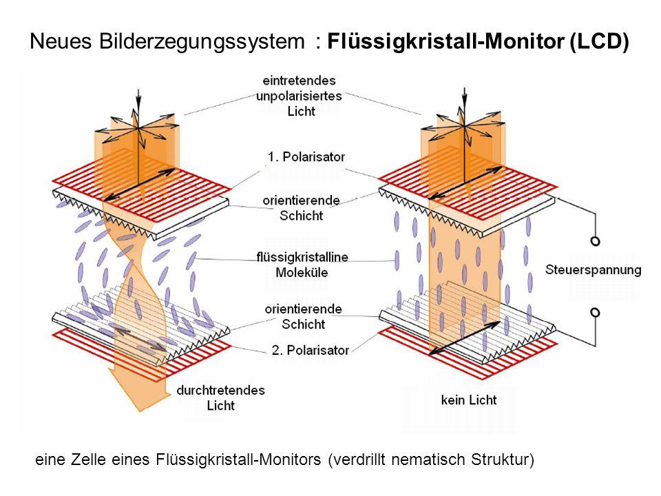 Neues Bilderzegungssystem : Flüssigkristall-Monitor (LCD)