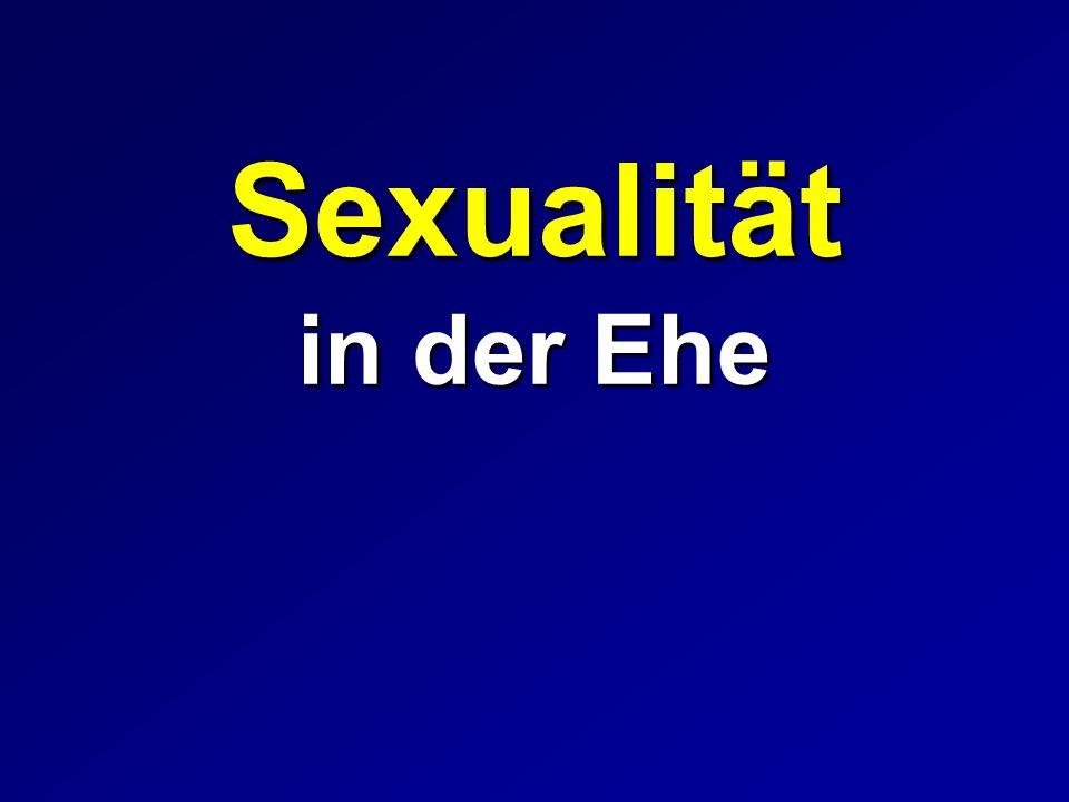 Sexualität in der Ehe