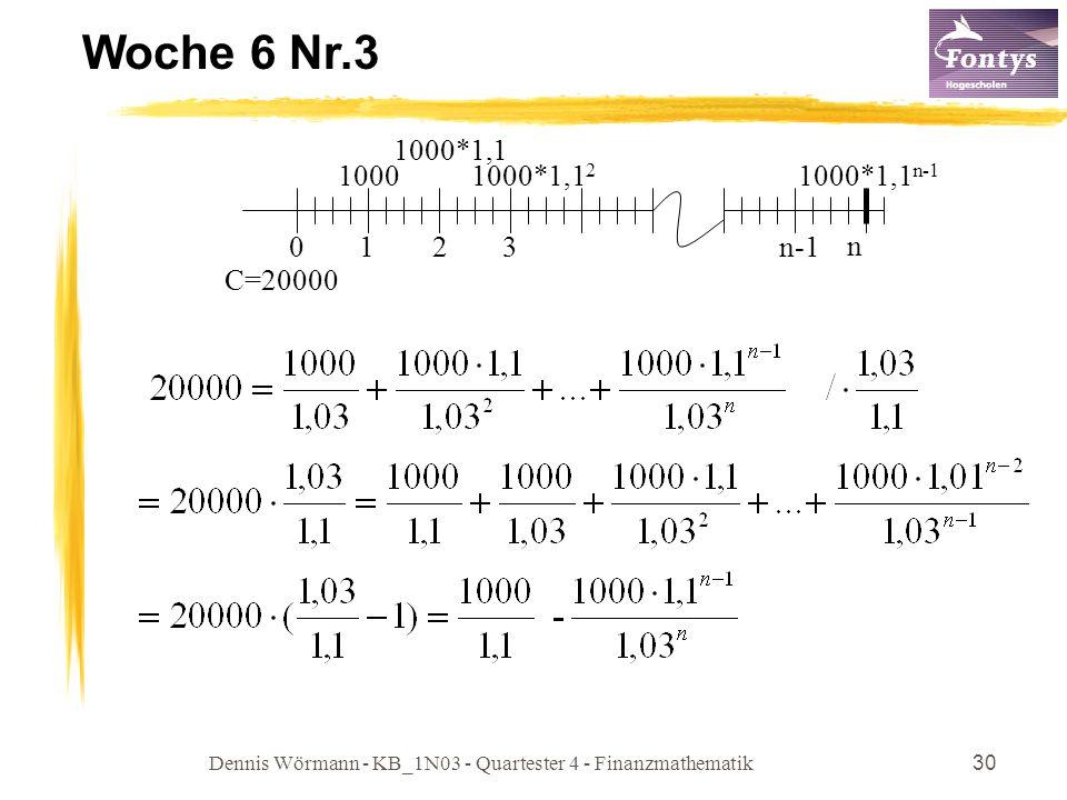 Dennis Wörmann - KB_1N03 - Quartester 4 - Finanzmathematik