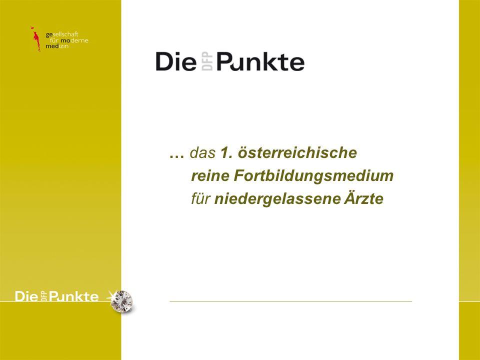 … das 1. österreichische reine Fortbildungsmedium für niedergelassene Ärzte