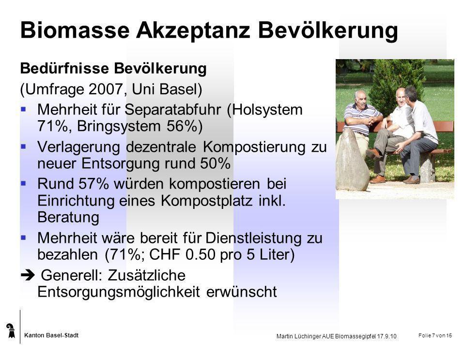 Biomasse Akzeptanz Bevölkerung