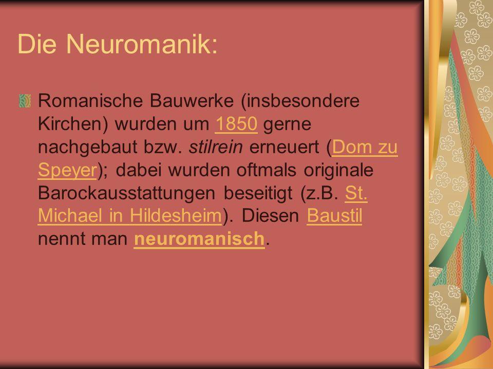 Die Neuromanik: