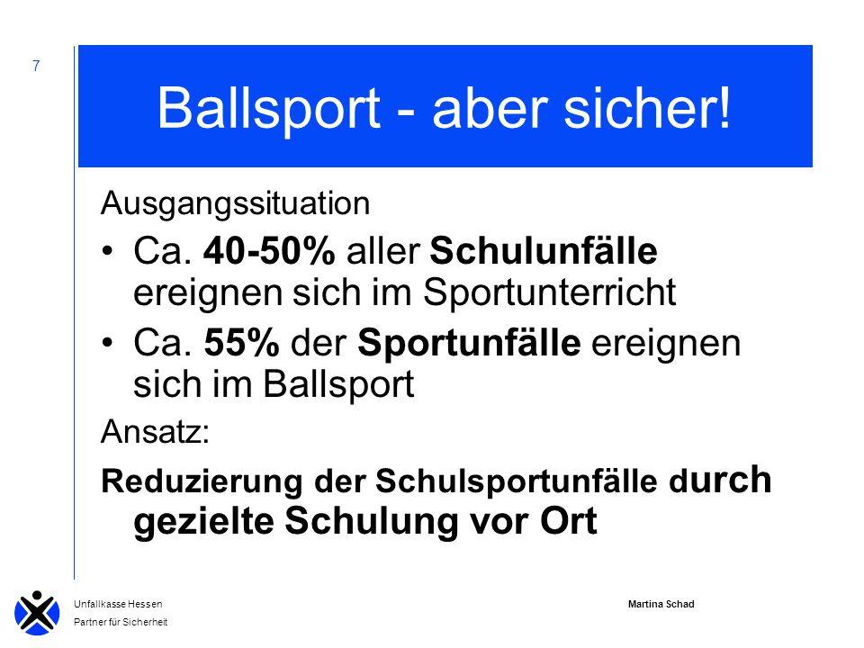 Ballsport - aber sicher!