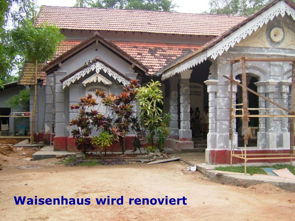 Waisenhaus Waisenhaus Waisenhaus wird renoviert