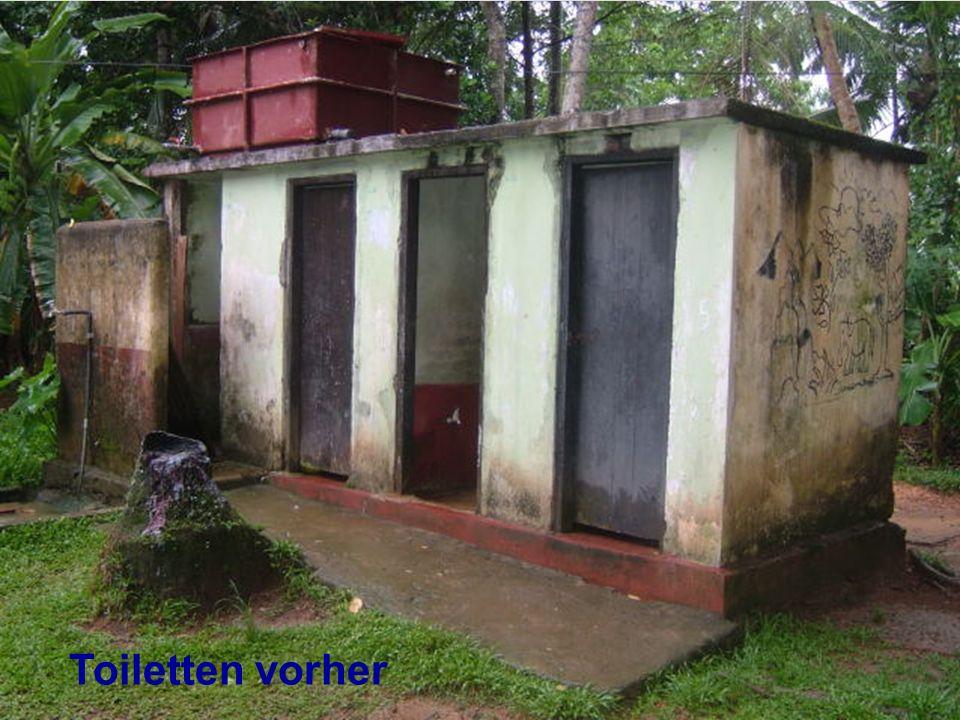 Toiletten vorher