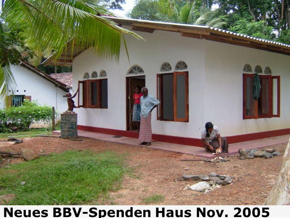 Neues BBV-Spenden Haus Nov. 2005