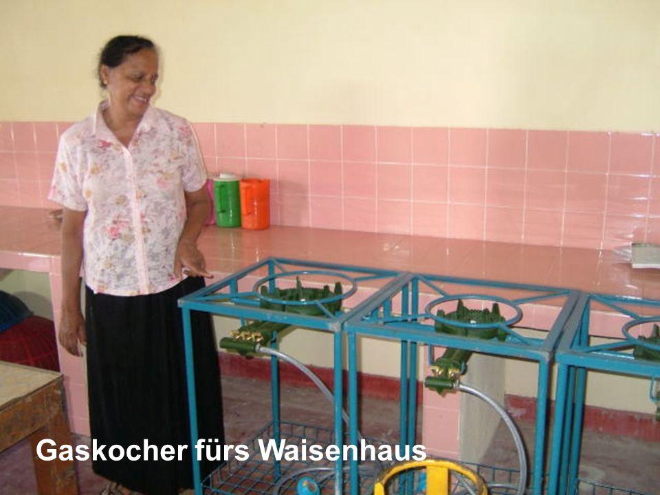 Gaskocher fürs Waisenhaus