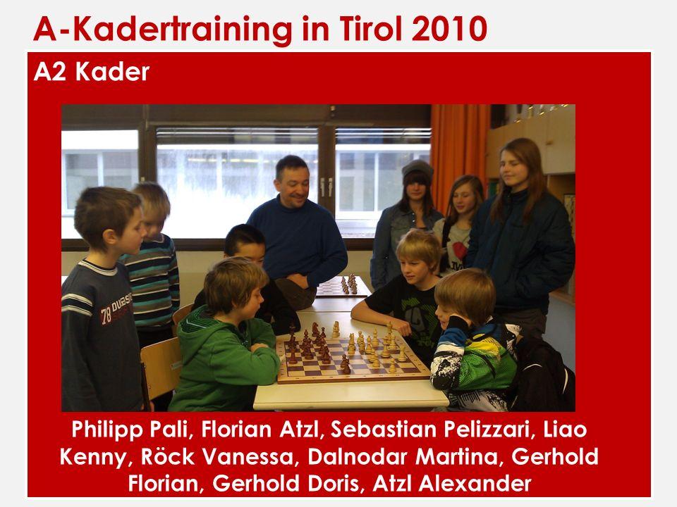 A-Kadertraining in Tirol 2010