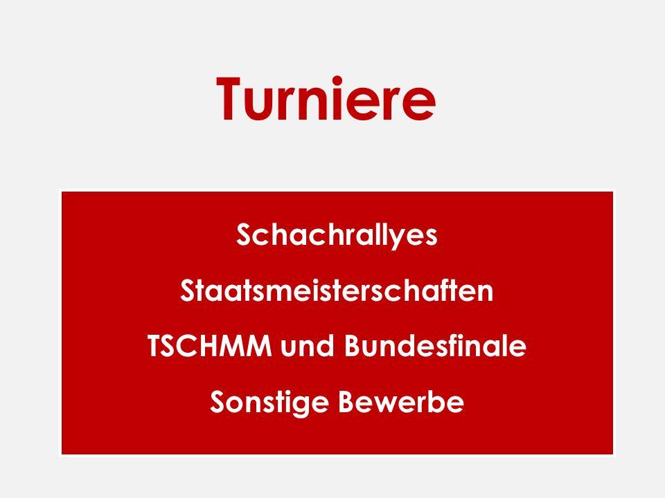 Staatsmeisterschaften TSCHMM und Bundesfinale