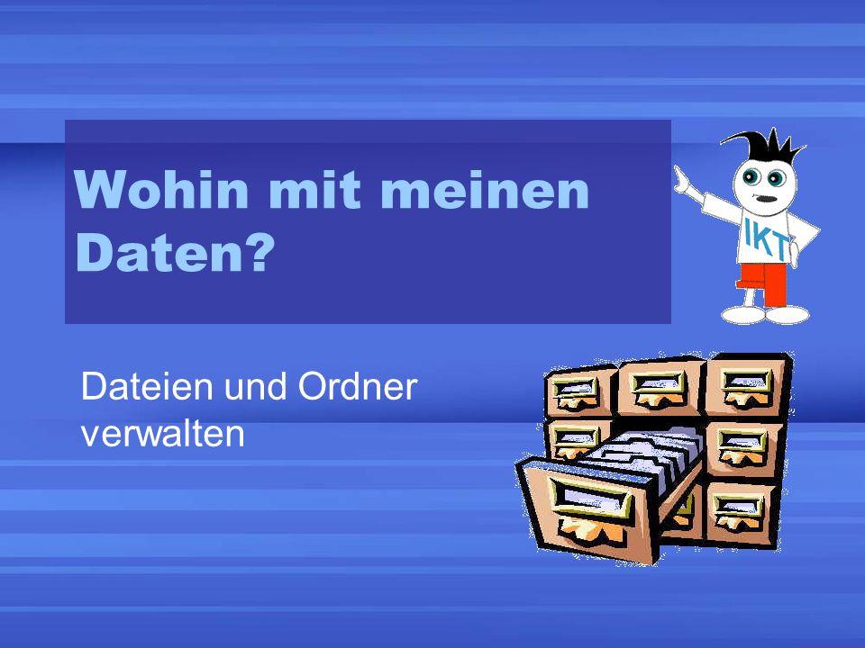 Dateien und Ordner verwalten