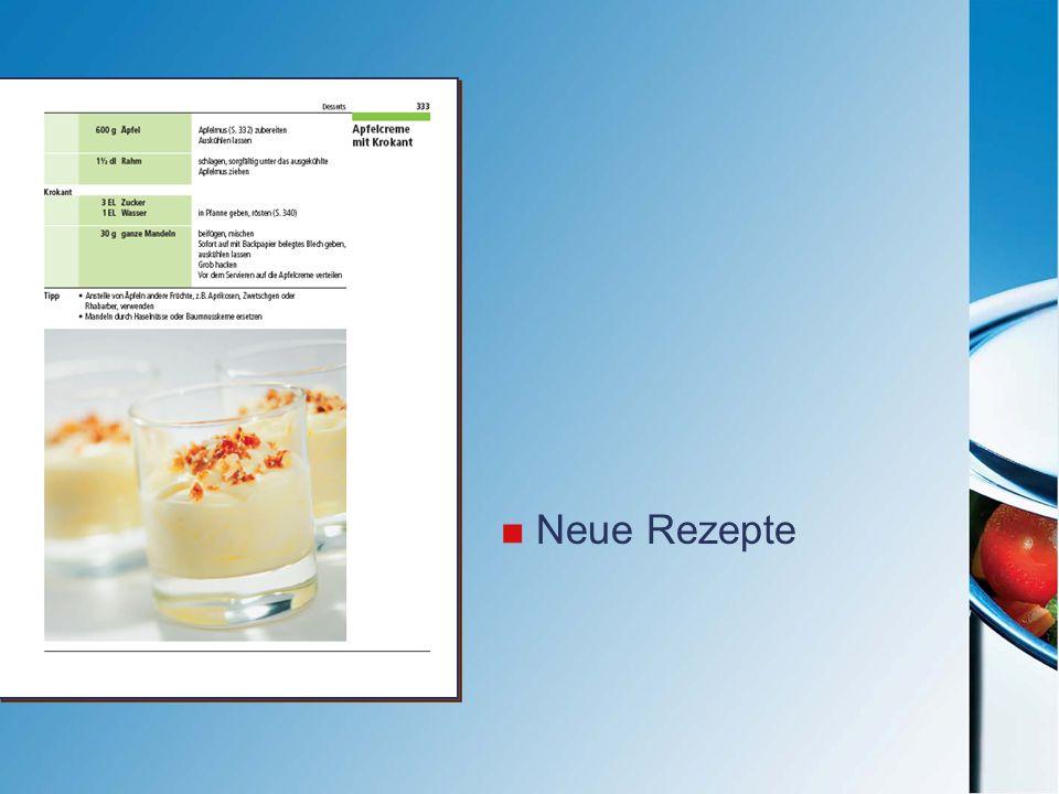 Neue Rezepte
