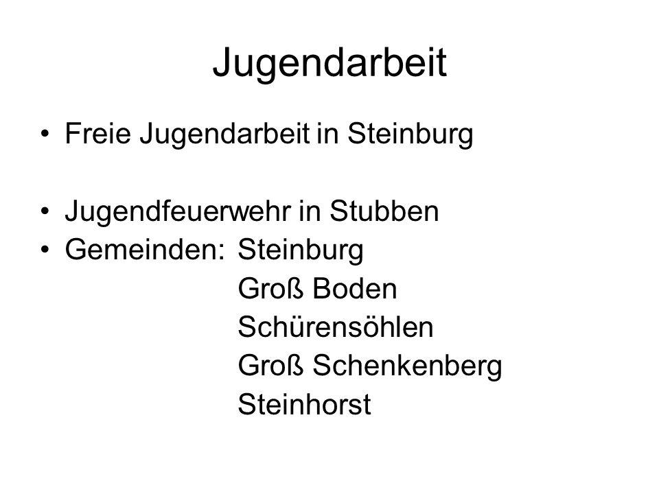 Jugendarbeit Freie Jugendarbeit in Steinburg