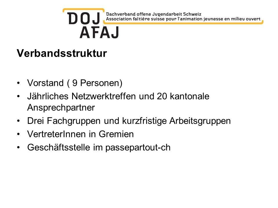 Verbandsstruktur Vorstand ( 9 Personen)