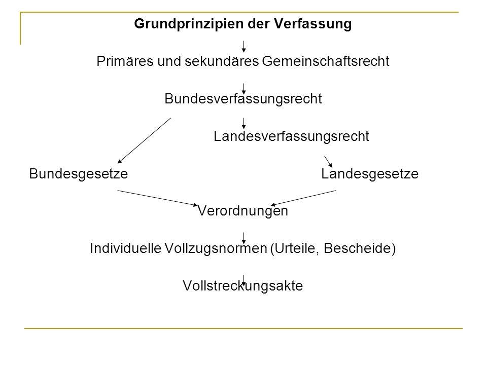 Grundprinzipien der Verfassung