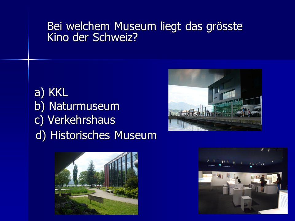 d) Historisches Museum