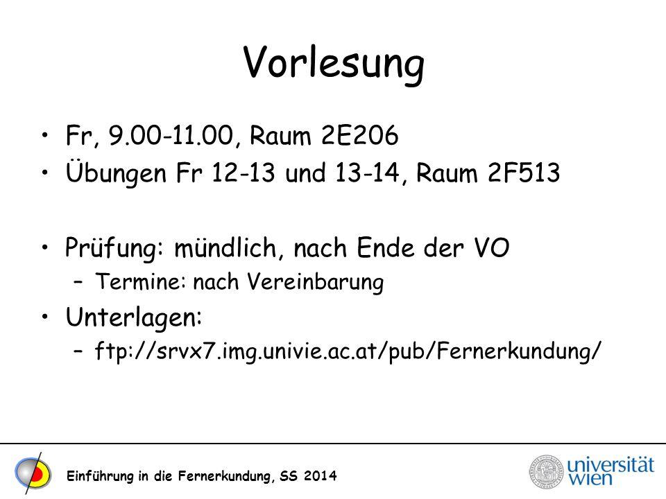 Vorlesung Fr, 9.00-11.00, Raum 2E206. Übungen Fr 12-13 und 13-14, Raum 2F513. Prüfung: mündlich, nach Ende der VO.